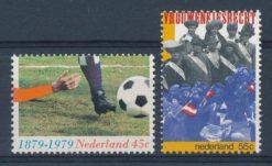 Nederland 1979 100 jaar voetbal in Nederland  NVPH  1182-83