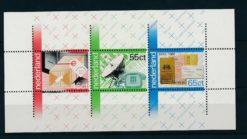 Nederland 1981 100 jaar PTT blok  NVPH 1223