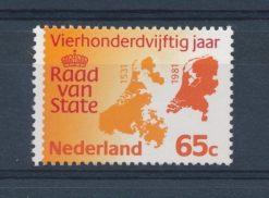 Nederland 1981 450 jaar Raad van State NVPH 1227