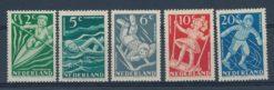 Nederland 1948 Kinderzegels NVPH  508-12
