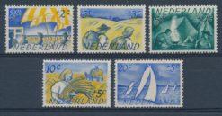 Nederland 1949 Zomerzegels NVPH  513-17