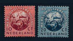 Nederland 1949 Wereldpostvereniging NVPH  542-43