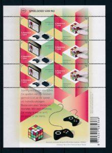 Nederland 2015 Europazegels Speelgoed van nu vel NVPH V3287-88