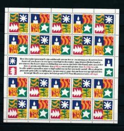 Nederland 1994 velletje Decemberzegels  NVPH V1628-29