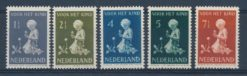 Nederland 1940 Kinderzegels NVPH 374-78