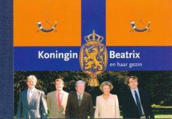 Nederland 2004 Koninklijk huis I prestigeboekje PR2