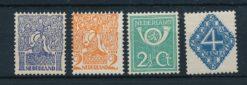 Nederland 1923 Diverse voorstellingen  NVPH 110-13