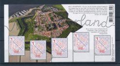 Nederland 2015 Mooi Nederland velletje vestingsteden Willemstad NVPH 3300