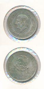Mexico 1953 5 pesos
