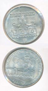 Oostenrijk 1976 100 schilling