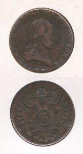 Oostenrijk 1799 B 3 kopeken