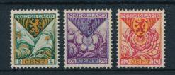 Nederland 1925 Kinderzegels  NVPH 166-68