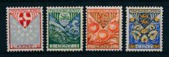 Nederland 1926 Kinderzegels  NVPH 199-02