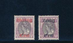 Nederland 1919 Hulpuitgifte NVPH 102-03