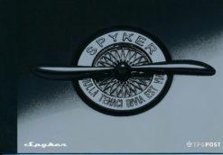 Nederland 2004 Spyker prestigeboekje PR3
