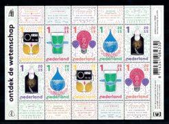 Nederland 2015 Ontdek de wetenschap vel NVPH V3310-14