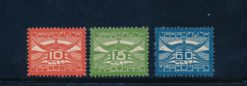 Nederland 1921 Allegorische voorstelling LP 1-LP3