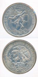 Mexico 1968 25 pesos