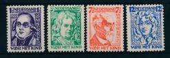 Nederland 1928 Kinderzegels  NVPH 220-23