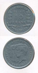 Belgie 1930 10 francs