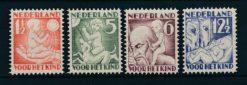Nederland 1930 Kinderzegels  NVPH 232-35