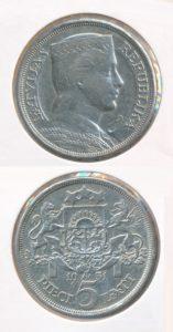 Letland 1931 5 lat