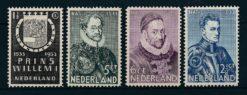 Nederland 1933 Herdenkingszegels  NVPH 252-55