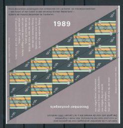 Nederland 1989 velletje Decemberzegels  NVPH V1439