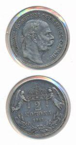 Hongarije 1914 2 korona