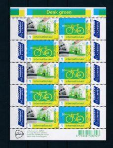 Nederland 2016 Denk groen PostEurop vel NVPH 3399-00
