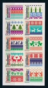Nederland 2012 Decemberzegels NVPH  3002-11