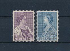 Nederland 1934 Crisiszegels NVPH 265-66