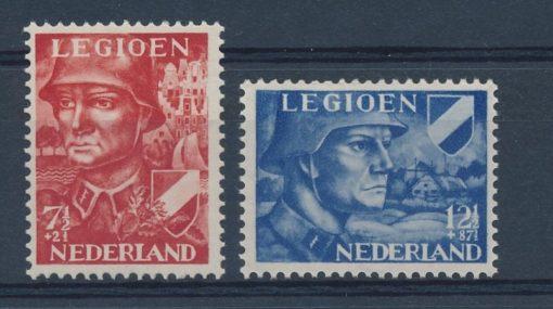 Nederland 1942 Legioenzegels NVPH 402-03 1