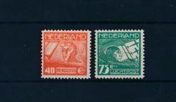 Nederland 1928 Koppen en Van der Hoop NVPH LP4-LP5