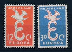 Nederland 1958 Europa-zegels NVPH  713-14