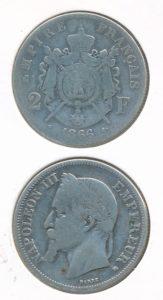 Frankrijk 1866 2 franc