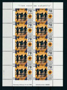 Nederland 1996 Vakantie 70 cent Velletje NVPH V1678