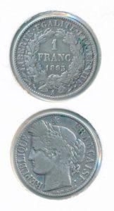 Frankrijk 1895 A 1 franc