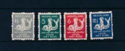 Nederland 1929 Kinderzegels NVPH R82-R85
