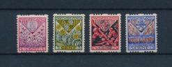 Nederland 1927 Kinderzegels NVPH R78-R81