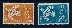 Nederland 1961 Europa CEPT NVPH  757-58