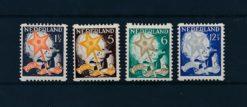Nederland 1933 Kinderzegels NVPH R98-R101