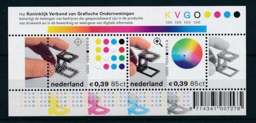 Nederland 2001 KVGO blok  NVPH 2011 1