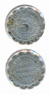 Frankrijk 1921 5 cent
