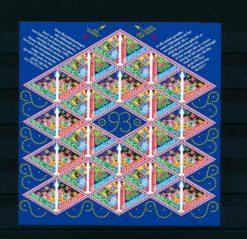 Nederland 1993 velletje Decemberzegels  NVPH V1579-80
