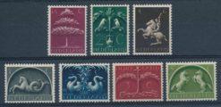 Nederland 1943-44 Germaanse symbolen NVPH  405-11