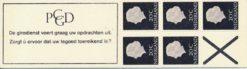 Nederland 1966 Automaatboekje  PB 6a