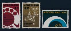 Nederland 1962 Automatisering telefoonnet NVPH  771-73