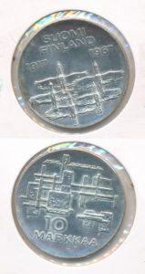 Finland 1967 10 markkaa