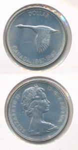 Canada 1967 1 dollar